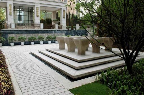 酒店中庭景观设计